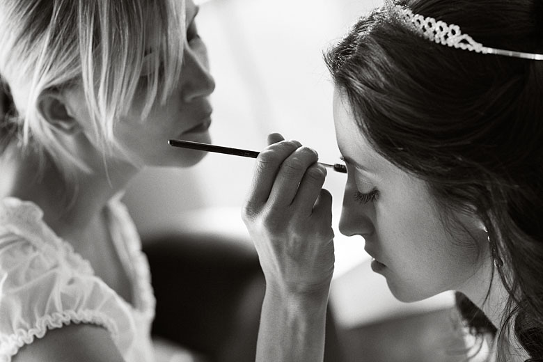 wedding makeup photography