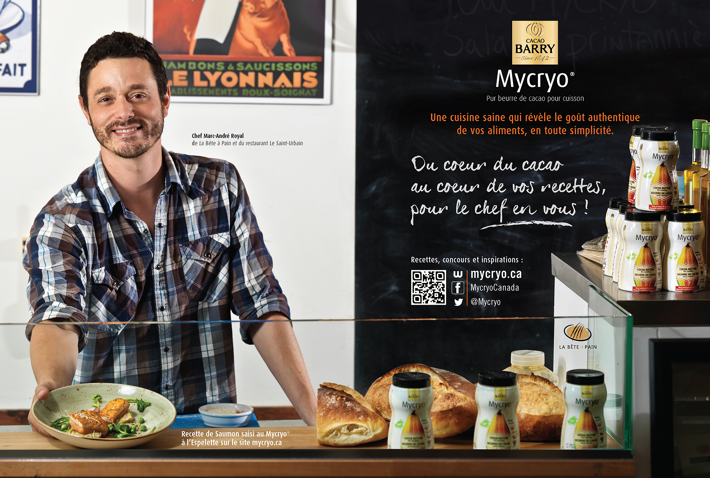 food photography in Montreal, commercial photography for magazine