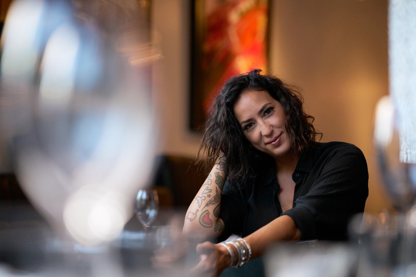 Kimberly Lallouz cheff portrait montreal
