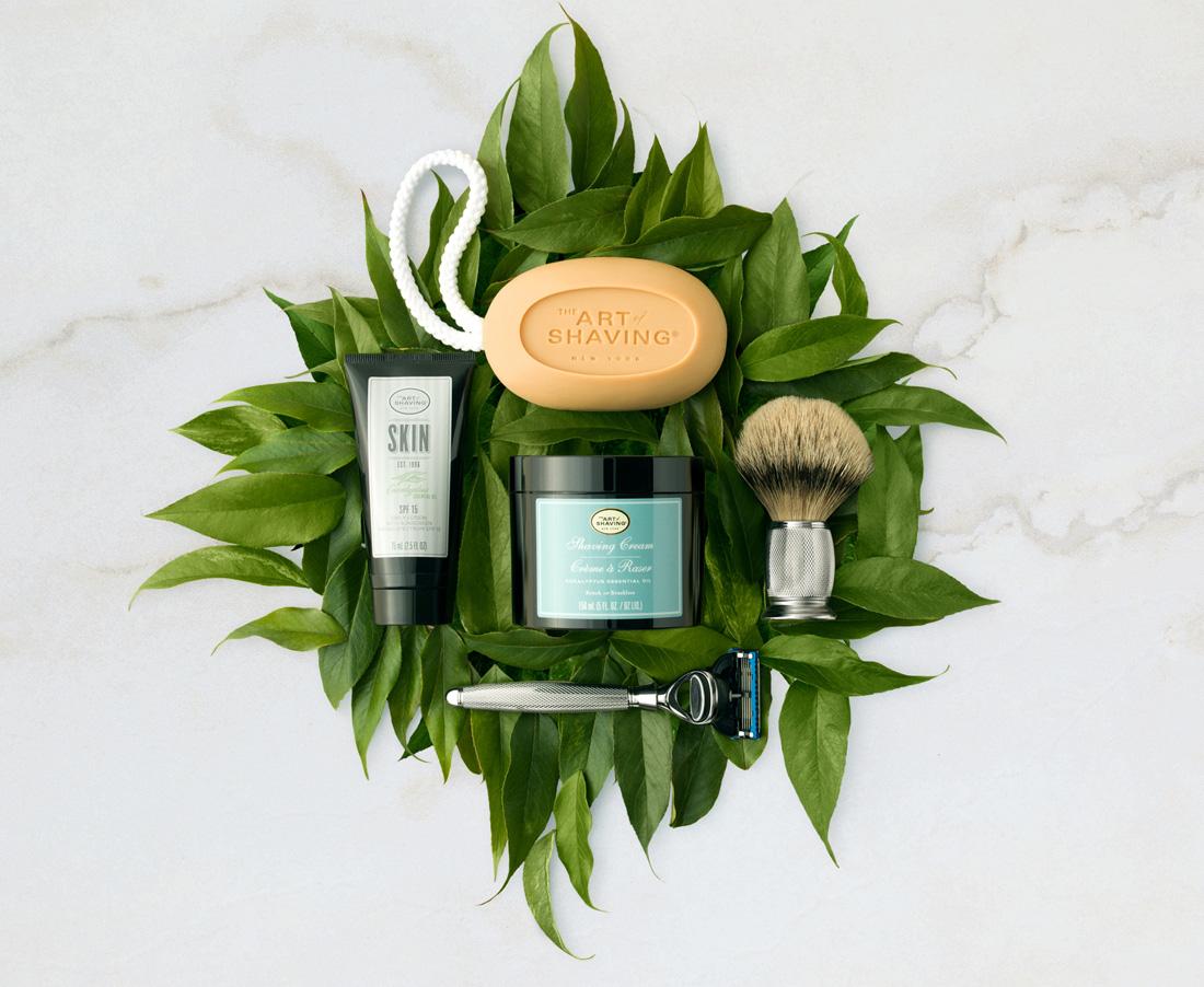 Advertising Product Photography The Art of Shaving / www.theartofshaving.com