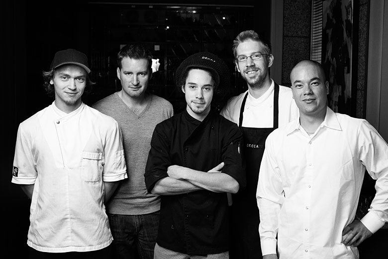 team chefs of DECCA 77