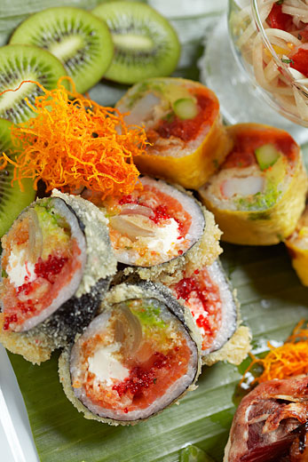 sushi art by Montreal commercial photographer Vadim Daniel