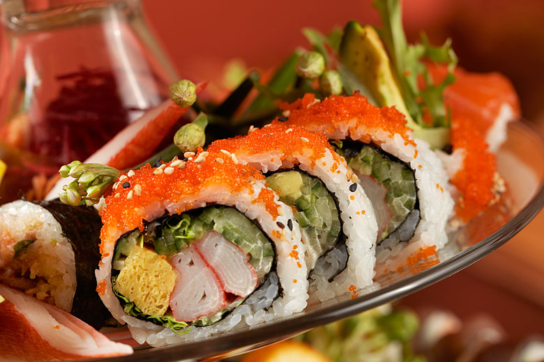 sushi photography by Montreal photographer