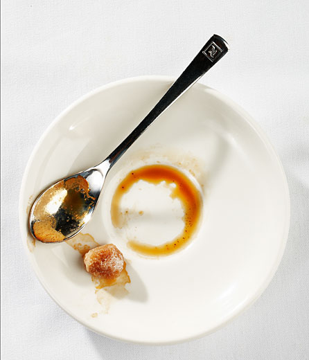 coffee plate after, editorial food photography in Montreal, canada