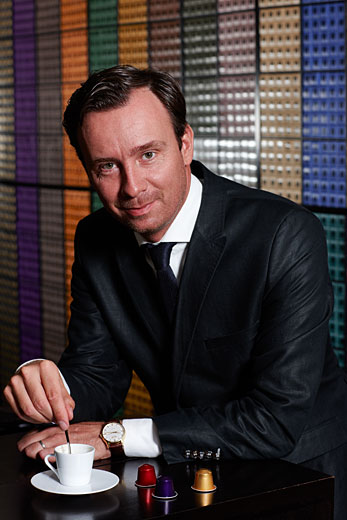 Jacques Demont, Managing Director Nespresso CANADA, portrait photography by Vadim Daniel