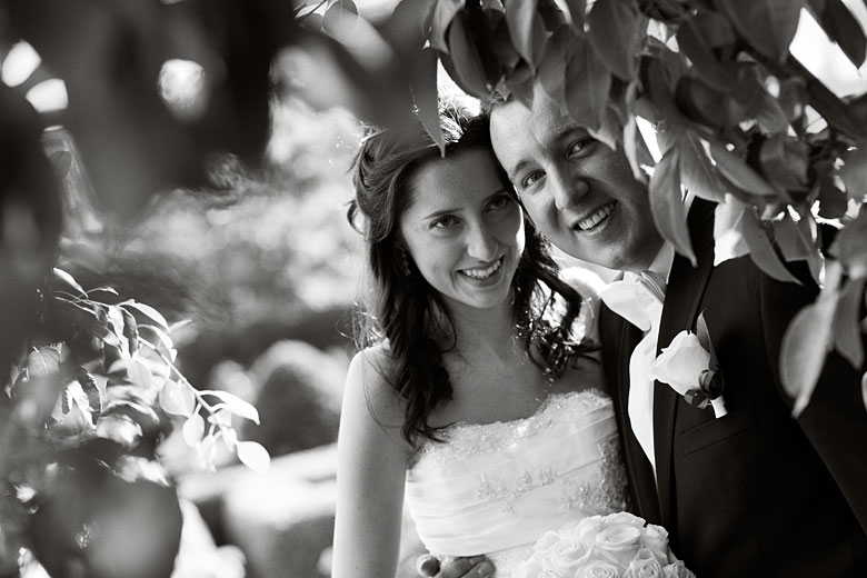 black and white wedding portrait photography by Montreal photographer Vadim Daniel