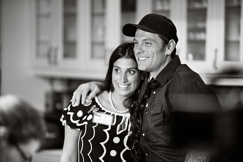 Cheria Kyres & Chuck Hughes
