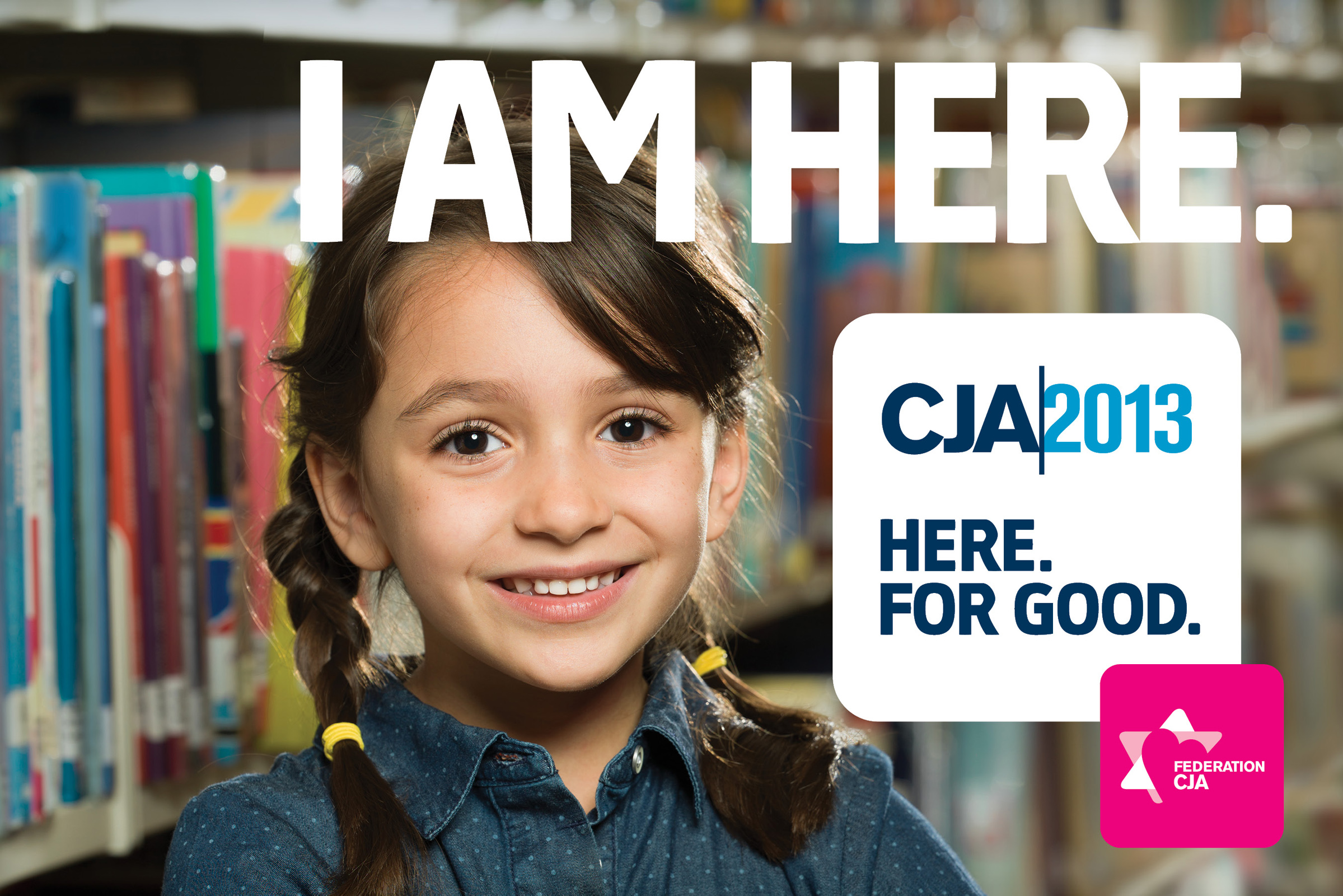 "For the fourth time I had the privilege to photograph for the Jewish Federation CJA campaign 2013. The campaign's slogan this year is ""I'm here"", to emphasize the importance of every jewish person and his contribution to the community."