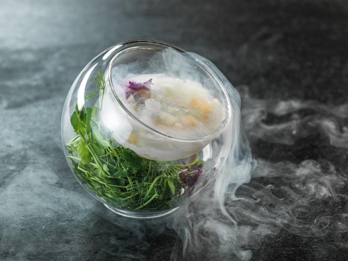 molecular food photography by Vadim Daniel.