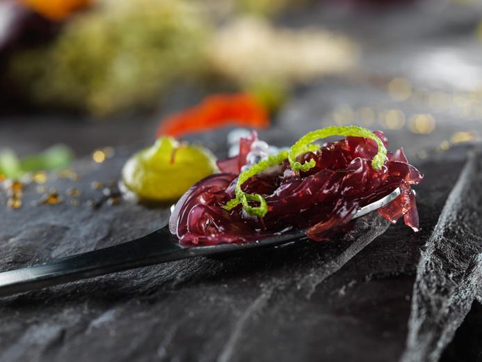 molecular Ottoman food presentation and photography by Montreal-Toronto food studio photographer Vadim Daniel