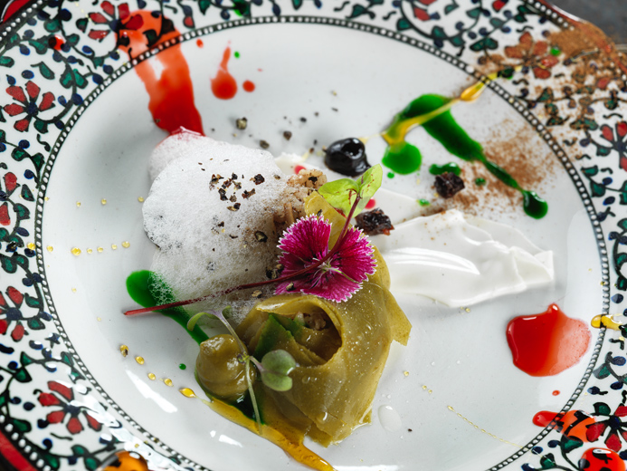 Turkish food presentation, photography by Vadim Daniel.