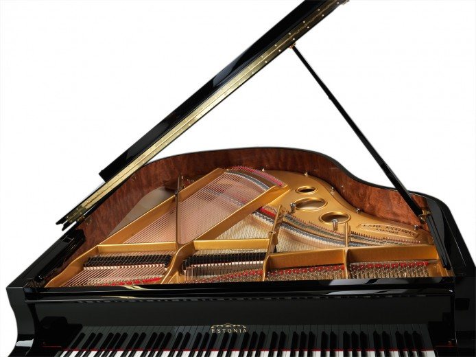 details of grand piano photography