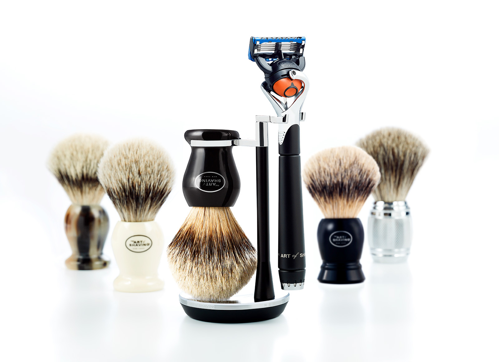 Advertising Product Photography The Art of Shaving / www.theartofshaving.com