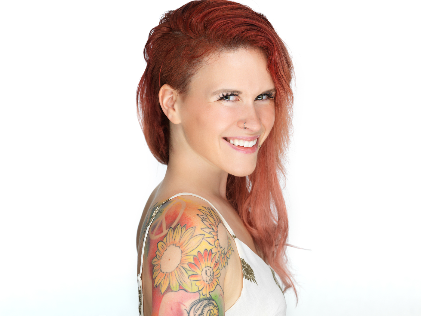 headshot, portrait, Montreal headshots, tattoo, Montreal portrait photography