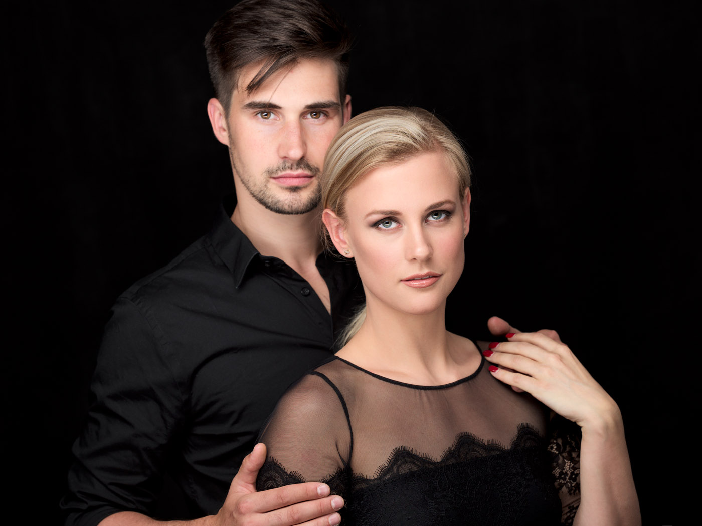 Montreal studio portrait photographer for couples